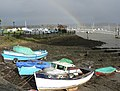 Saltash foreshore with rainbow - geograph.org.uk - 1029434.jpg