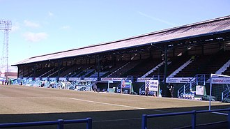Saltergate - Main Stand pictured from the Kop