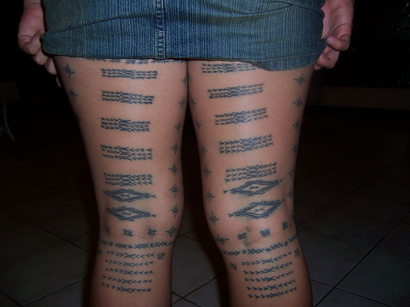 ... tattoo design on legs. Men and women prefer different type of tattoos
