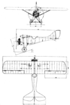 Samolot Sp.I 3-view L'Air October 15,1926.png