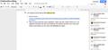 Sample of collaborative editing using google doc.png