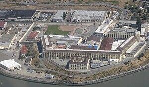 English: San Quentin State Prison, CA Dansk: S...