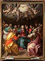 San pietro a grignano, pentecoste, mirabello cavalori e giorlamo macchietti, 1590 circa.jpg
