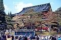 Sanbutsu-dō at Rinnō-ji, Nikko (三佛堂, 輪王寺, 日光) (1967-05-06 by Roger W).jpg