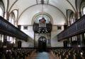 Sankt Lukas Kirke Copenhagen interior from altar.jpg