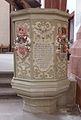 Sankt Thomas an der Kyll Klosterkirche Kanzel 371.JPG