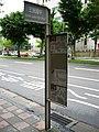 Sanmin Junior High School bus stop 20100623.jpg