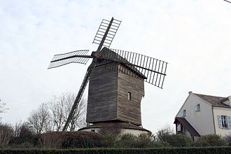 Sannois - The windmill known as Moulin Trouillet