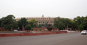 Politics of India - Parliament of India.