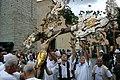 Sant'Eusebio - Madonna di Caravaggio - Processione - 022 - Cristi davanti alla chiesa.jpg