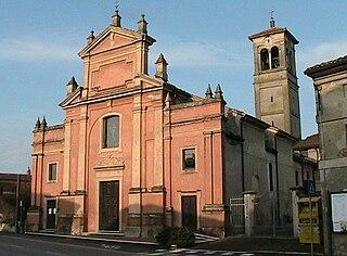 Cella Dati Comune in Lombardy, Italy
