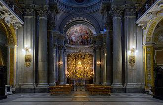 Santa Maria in Campitelli - Image: Santa Maria in Campitelli (Rome) Interior