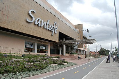 How to get to Centro Comercial Santa Fe with public transit - About the place