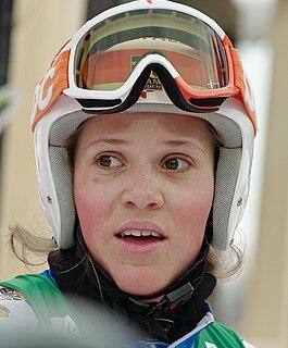 Sara Hector Swedish female alpine skier