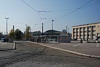 Sarajevo Tram-Stop Zeljeznicka-Stanica 2011-10-31 (2).jpg