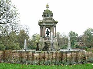 Samuel Sarphati - Image: Sarphati monument