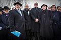 Sarre-Union représentants cultes avant cérémonie profanation cimetière juif 17 février 2015.jpg