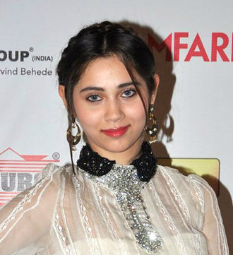 Sasha Agha - Agha at the 59th Filmfare Awards, 2013