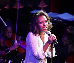 Sasha Allen - Sasha Allen performing in Joe's Pub at the Public Theater in NYC, 27 August 2012