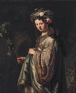 <i>Flora</i> (Rembrandt, Hermitage) 1634 painting by Rembrandt