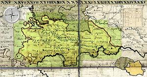 Szatmár County - Szatmár County, 1782–85