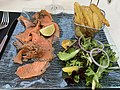 Saumon gravelax au Roxy Brasserie Lounge (Saint-Maurice-de-Beynost).jpg