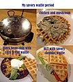 Savory waffles (11968563014).jpg