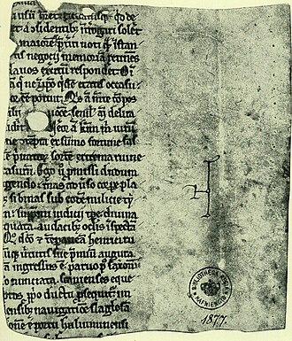 Plesner Fragment - Front
