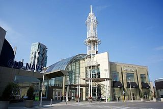 shopping mall in Toronto, Canada