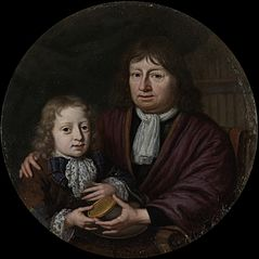 Isaac Pontanus Giving a Gold Medal to his Grandson Hendrik van Beek