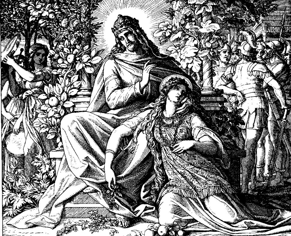 Schnorr von Carolsfeld Bibel in Bildern 1860 138