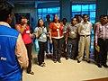 Science Career Ladder Workshop Participants Visiting Science City - Indo-US Exchange Programme - Kolkata 2008-09-17 01263.JPG