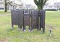 Sculptuur 'Intensieve zorg' door Theo Schreurs, Albert Schweitzerlaan-Rode Kruislaan, Nijmegen (1).jpg