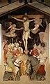 Scuola pistoiese, crocifissione, xiv secolo 01.jpg