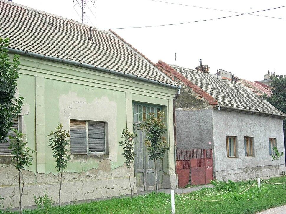 Sečanj, old houses