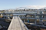 SeaTac Airport station from airport parking garage.jpg