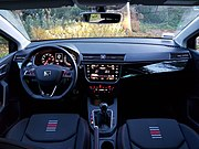 Seat Ibiza FR Business intense (2018) interior.jpg
