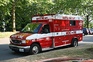 Seattle Fire Department - Seattle Fire Department Medic 80