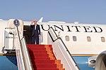 Secretary Kerry Waves Goodbye Before Departing Abu Dhabi en Route to Marrakech (30967558006).jpg