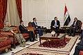 Secretary Pompeo Meets with Iraqi Prime Minister Adil Abdul-Mahdi (47798975121).jpg
