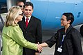 Secretary of State Hillary Clinton Arrives in Bali (6353141563).jpg