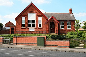 Parish councils in England - Parish council office and hall, Selston
