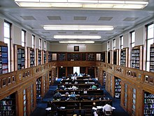 Library Imperial College London Book Zeneca Room
