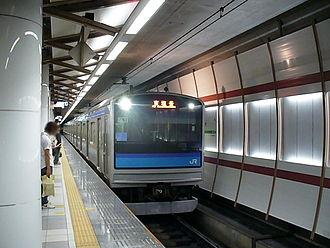 Sendai Station (Miyagi) - Senseki Line underground platforms