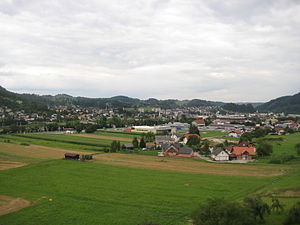 Styria (Slovenia) - Typical Lower Styrian landscape in Sevnica.