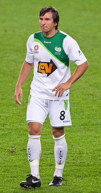 Shane Stefanutto - Stefanutto playing for North Queensland Fury in 2009