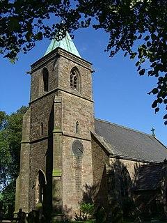 Church of St Luke, Sheen, Staffordshire Church in Staffordshire, United Kingdom