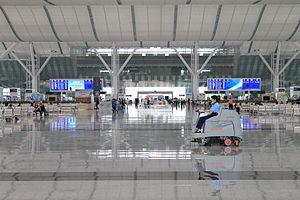 Shenzhen North Railway Station - Shenzhen North Station concourse