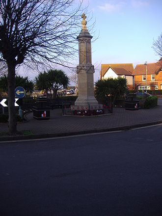 Sheringham - The war memorial