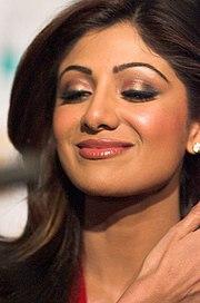 Shilpa Shetty, una famosa actriz del cine de Bollywood